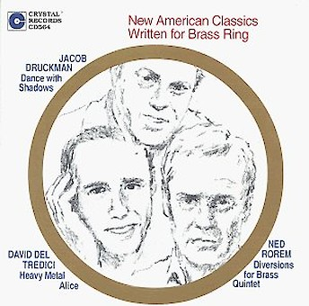 New American Classics Written for Brass Ring cover image