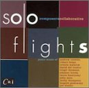 Solo Flights - 20th Century Works for Piano cover image