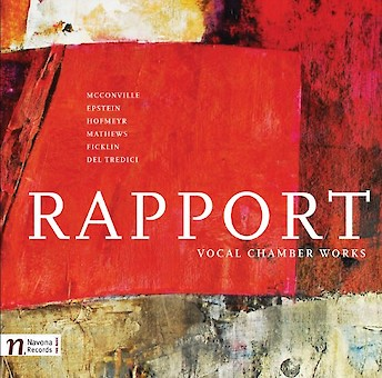 Rapport - Vocal Chamber Works cover image